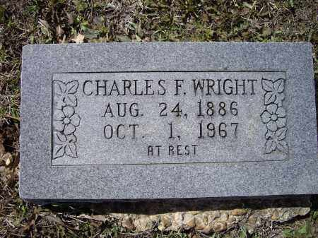 WRIGHT, CHARLES F. - Lawrence County, Arkansas | CHARLES F. WRIGHT - Arkansas Gravestone Photos