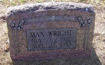WRIGHT, CAROL MAX - Lawrence County, Arkansas | CAROL MAX WRIGHT - Arkansas Gravestone Photos