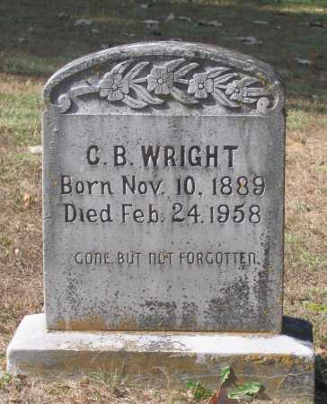 "WRIGHT, CHARLES BANT ""C. B."" - Lawrence County, Arkansas 