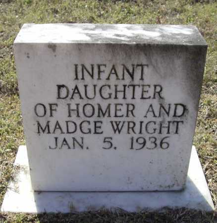 WRIGHT, INFANT DAUGHTER - Lawrence County, Arkansas   INFANT DAUGHTER WRIGHT - Arkansas Gravestone Photos