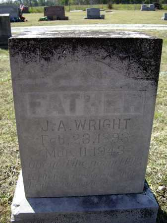 "WRIGHT, JAMES ARTHUR ""J. A."" - Lawrence County, Arkansas 
