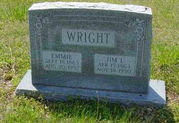 "WRIGHT, SUSAN EMILY ""EMMIE"" - Lawrence County, Arkansas 