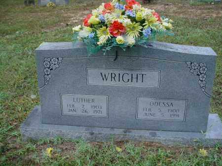 LAWSON WRIGHT, ELVA ODESSA - Lawrence County, Arkansas | ELVA ODESSA LAWSON WRIGHT - Arkansas Gravestone Photos