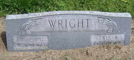 WRIGHT, JOSEPHINE - Lawrence County, Arkansas | JOSEPHINE WRIGHT - Arkansas Gravestone Photos