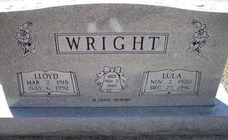 SEXTON WRIGHT, LULA - Lawrence County, Arkansas | LULA SEXTON WRIGHT - Arkansas Gravestone Photos