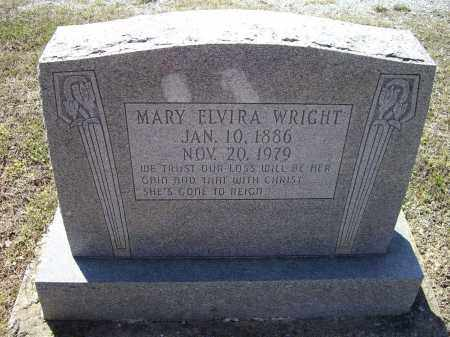WRIGHT, MARY ELVIRA - Lawrence County, Arkansas | MARY ELVIRA WRIGHT - Arkansas Gravestone Photos