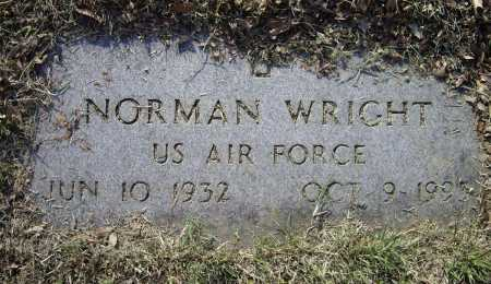 WRIGHT (VETERAN), NORMAN - Lawrence County, Arkansas | NORMAN WRIGHT (VETERAN) - Arkansas Gravestone Photos
