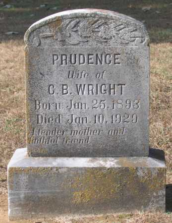 "WRIGHT, PRUDENCE ""PRUDY"" - Lawrence County, Arkansas 