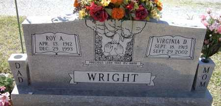 WRIGHT, ROY ALVIN - Lawrence County, Arkansas | ROY ALVIN WRIGHT - Arkansas Gravestone Photos