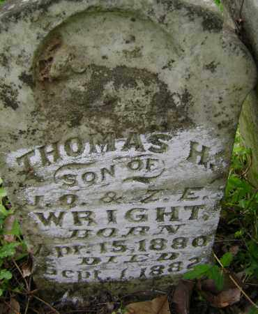 WRIGHT, THOMAS H. - Lawrence County, Arkansas | THOMAS H. WRIGHT - Arkansas Gravestone Photos