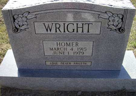 WRIGHT, THOMAS HOMER - Lawrence County, Arkansas | THOMAS HOMER WRIGHT - Arkansas Gravestone Photos