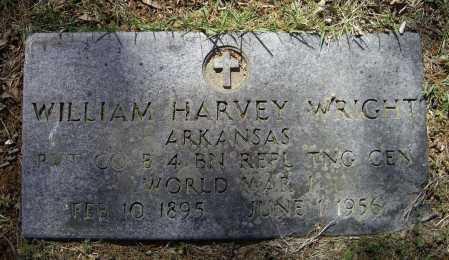 WRIGHT (VETERAN WWI), WILLIAM HARVEY - Lawrence County, Arkansas | WILLIAM HARVEY WRIGHT (VETERAN WWI) - Arkansas Gravestone Photos