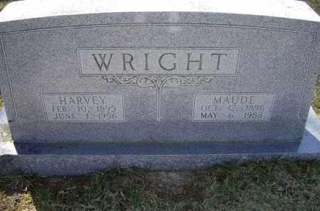 WRIGHT, MAUDE - Lawrence County, Arkansas | MAUDE WRIGHT - Arkansas Gravestone Photos