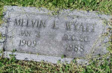 WYATT, MELVIN L - Lawrence County, Arkansas | MELVIN L WYATT - Arkansas Gravestone Photos