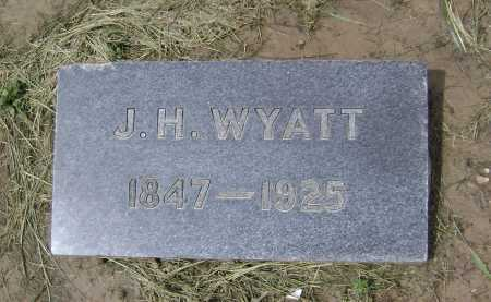 WYATT, J. H. - Lawrence County, Arkansas | J. H. WYATT - Arkansas Gravestone Photos