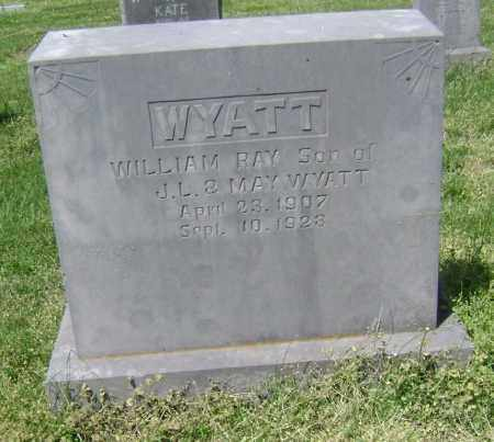 WYATT, WILLIAM RAY - Lawrence County, Arkansas | WILLIAM RAY WYATT - Arkansas Gravestone Photos