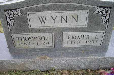WYNN, THOMPSON - Lawrence County, Arkansas | THOMPSON WYNN - Arkansas Gravestone Photos