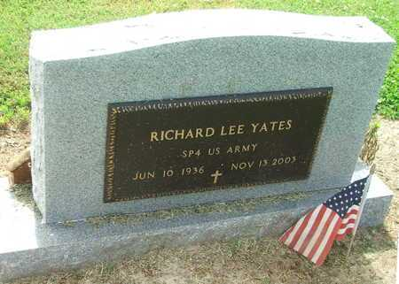 YATES (VETERAN), RICHARD LEE - Lawrence County, Arkansas | RICHARD LEE YATES (VETERAN) - Arkansas Gravestone Photos