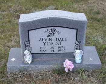 YINGST, ALVIN DALE - Lawrence County, Arkansas | ALVIN DALE YINGST - Arkansas Gravestone Photos