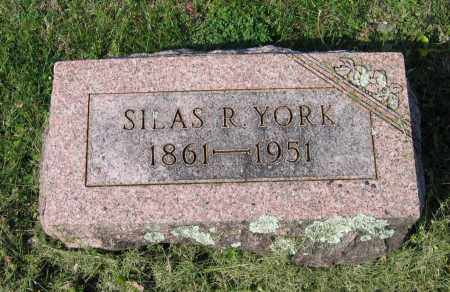 YORK, JR., SILAS RAY - Lawrence County, Arkansas | SILAS RAY YORK, JR. - Arkansas Gravestone Photos