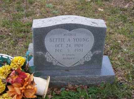 YOUNG, BETTIE ANN - Lawrence County, Arkansas | BETTIE ANN YOUNG - Arkansas Gravestone Photos