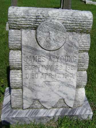 YOUNG, JAMES A - Lawrence County, Arkansas   JAMES A YOUNG - Arkansas Gravestone Photos