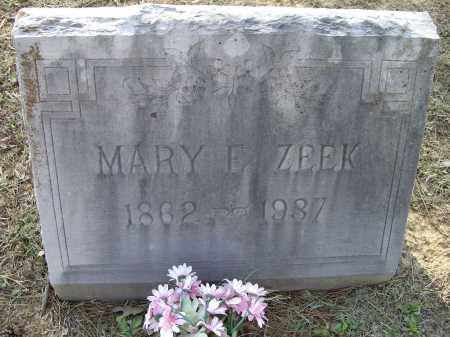 ZEEK, MARY E. - Lawrence County, Arkansas | MARY E. ZEEK - Arkansas Gravestone Photos