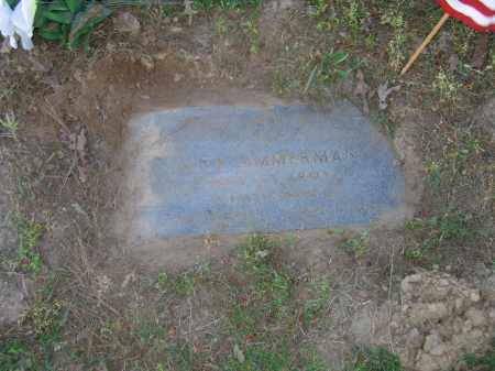 ZIMMERMAN (VETERAN WWII), ALEX - Lawrence County, Arkansas | ALEX ZIMMERMAN (VETERAN WWII) - Arkansas Gravestone Photos