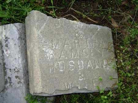 RAMSEY, MARTHA - Lawrence County, Arkansas | MARTHA RAMSEY - Arkansas Gravestone Photos