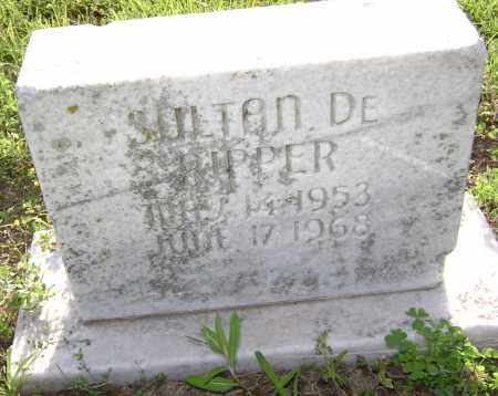 PIPPER, SULTAN DE - Lawrence County, Arkansas | SULTAN DE PIPPER - Arkansas Gravestone Photos