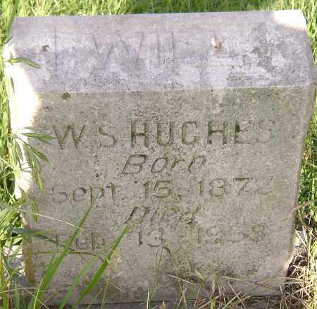 HUGHES, W. S. - Lawrence County, Arkansas | W. S. HUGHES - Arkansas Gravestone Photos