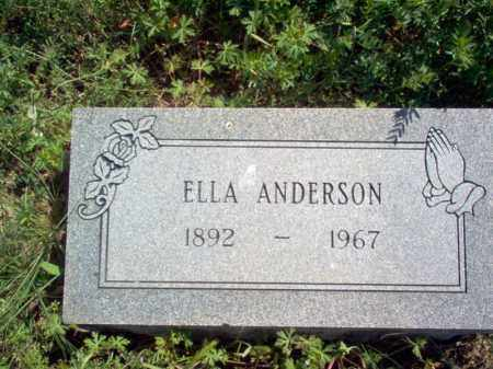 ANDERSON, ELLA - Lee County, Arkansas | ELLA ANDERSON - Arkansas Gravestone Photos