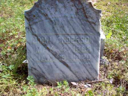 ANDERSON, JOHN - Lee County, Arkansas | JOHN ANDERSON - Arkansas Gravestone Photos