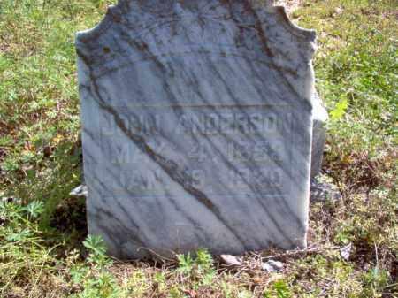 ANDERSON, JOHN - Lee County, Arkansas | JOHN ANDERSON - Arkansas Gravestone Photos