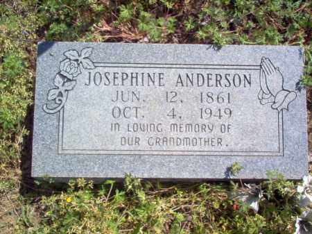 ANDERSON, JOSEPHINE - Lee County, Arkansas | JOSEPHINE ANDERSON - Arkansas Gravestone Photos