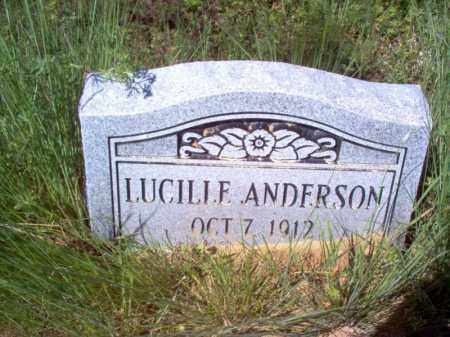 ANDERSON, LUCILLE - Lee County, Arkansas | LUCILLE ANDERSON - Arkansas Gravestone Photos