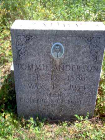 ANDERSON, TOMMIE - Lee County, Arkansas | TOMMIE ANDERSON - Arkansas Gravestone Photos