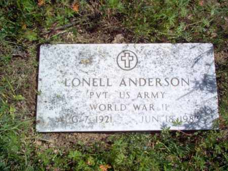 ANDERSON (VETERAN WWII), LONELL - Lee County, Arkansas | LONELL ANDERSON (VETERAN WWII) - Arkansas Gravestone Photos