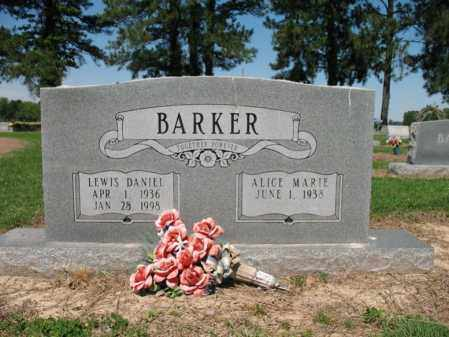 BARKER, LEWIS DANIEL - Lee County, Arkansas | LEWIS DANIEL BARKER - Arkansas Gravestone Photos