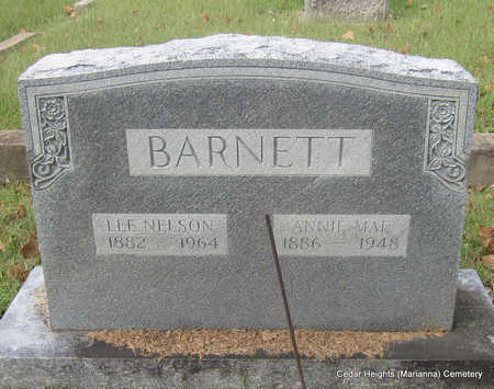 BARNETT, LEE NELSON - Lee County, Arkansas | LEE NELSON BARNETT - Arkansas Gravestone Photos
