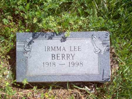 BERRY, IRMMA LEE - Lee County, Arkansas | IRMMA LEE BERRY - Arkansas Gravestone Photos