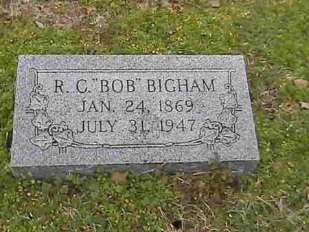 BIGHAM, R. C. 'BOB' - Lee County, Arkansas | R. C. 'BOB' BIGHAM - Arkansas Gravestone Photos