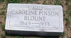 PINSON BLOUNT, CAROLINE - Lee County, Arkansas | CAROLINE PINSON BLOUNT - Arkansas Gravestone Photos