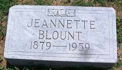 BLOUNT, JEANNETTE - Lee County, Arkansas | JEANNETTE BLOUNT - Arkansas Gravestone Photos