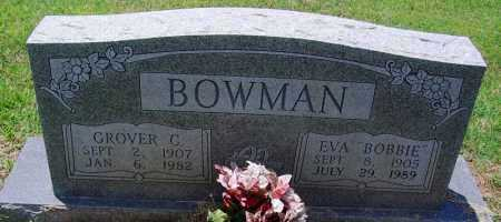 BOWMAN, GROVER C - Lee County, Arkansas | GROVER C BOWMAN - Arkansas Gravestone Photos