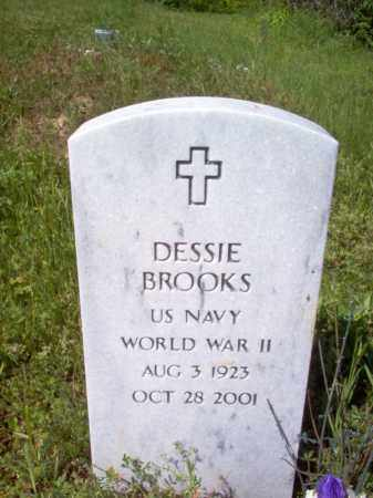 BROOKS (VETERAN WWII), DESSIE - Lee County, Arkansas | DESSIE BROOKS (VETERAN WWII) - Arkansas Gravestone Photos