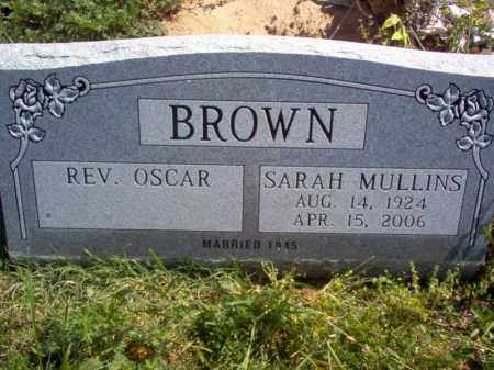 MULLINS BROWN, SARAH - Lee County, Arkansas | SARAH MULLINS BROWN - Arkansas Gravestone Photos