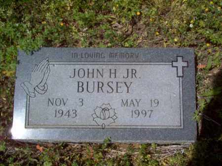BURSEY, JR., JOHN H - Lee County, Arkansas | JOHN H BURSEY, JR. - Arkansas Gravestone Photos