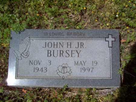 BURSEY, JR., JOHN H - Lee County, Arkansas   JOHN H BURSEY, JR. - Arkansas Gravestone Photos