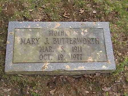BUTTERWORTH, MARY J. - Lee County, Arkansas | MARY J. BUTTERWORTH - Arkansas Gravestone Photos